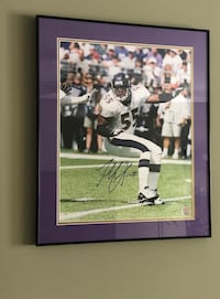 Ravens Terrell Suggs Autographed and Framed Picture Cockeysville, 21030