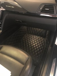 Bmw m4 diamond black leather floor mats!  Phoenix, 85043