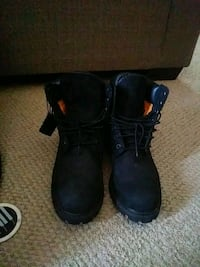 All black timberland boots Germantown, 20874
