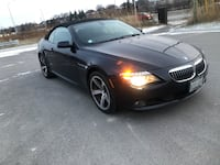 BMW 6 Series. 650I Convertible. Auto. Low Kms    Mississauga