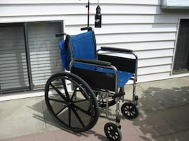 TALL INVACARE MG WHEELCHAIR FOR SALE