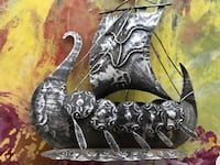 Metal Viking Ship Phoenix, 85028