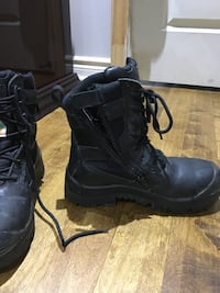 Steel toe water proof security boots Laval, H7K 3Y5