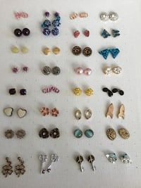 Post Earrings, $1 Each, they have been cleaned and have new backstops Chesapeake, 23320