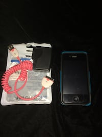 Apple iPhone 4S 16GB Verizon with Screen Protector,  Otterbox Case & AC Charging Cord + Block Rancho Cordova, 95670