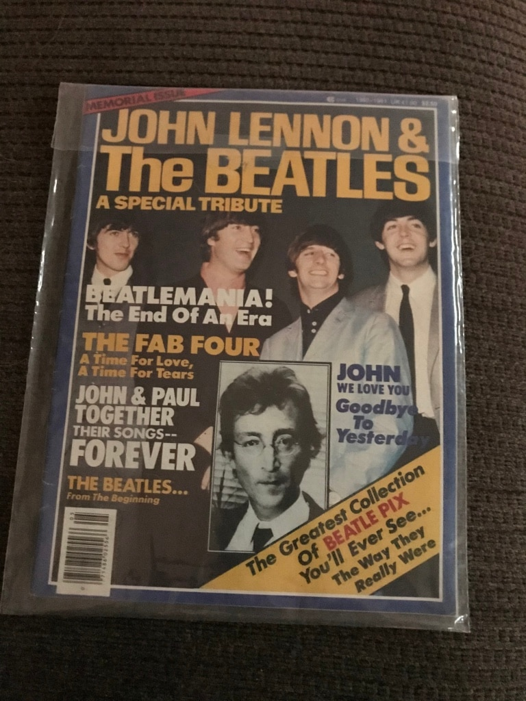 Photo Vintage Memorial Issue, John Lennon