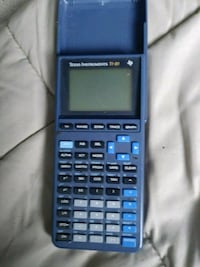 blue and black Texas Instruments TI-83 Plus calculator High Point, 27263
