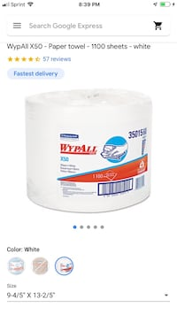 WypAll Wipers Jumbo Roll Oakland, 94619