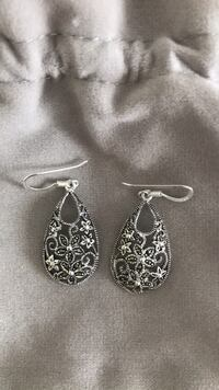 Brand new sterling silver earrings never worn! Plymouth, 02360