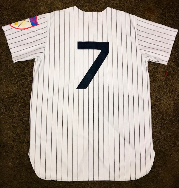 purchase cheap a8d65 7a28a 1951 Mickey Mantle New York Yankees #7 Mitchell&Ness Throwback Jersey  Sz:52(2XL)