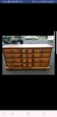 12 drawer Dresser, chest dovetailed South Riding, 20152