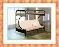 Twin futon bunkbed frame free delivery  Gaithersburg