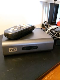 gray Western Digital device with black remote Kingsville, N9Y 4C9
