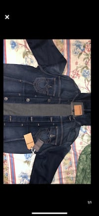 BRAND NEW TRUE RELIGION JEAN JACKET Toronto