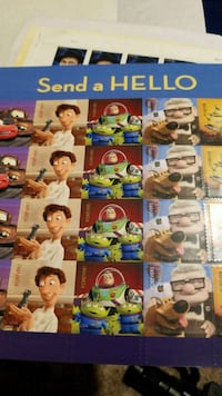 Toy story sheet stamps