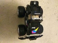 Remote toy jeep