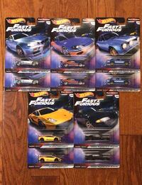 Hot wheels Fast & Furious set Markham