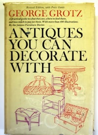 1971 Antiques You Can decorate With Book Winchester