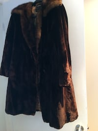 Beaver Fur Long Jacket size Large