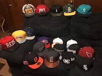 NewERA SnapBacks, StrapBacks, Fitted (New and like new)