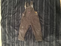 Lined overalls Size 2-3
