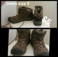 men's brown suede hiking shoes collage Junction City, 66441