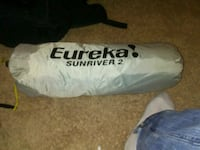 Euerka sun river 2 tent like new  Sterling, 20165