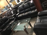 Reclining Sofa, Love Seat and Chair. Brand new.  DeSoto, 75115