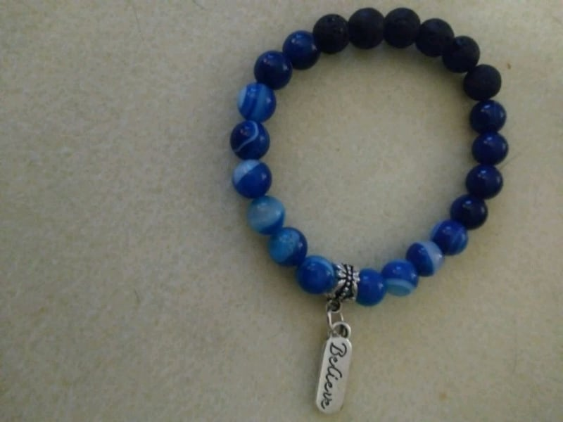 """""""Believe"""" Natural Crystal energy Beaded diffuser bracelet   9bc8c998-ad72-497c-b81e-4e0839a60f62"""