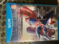 Wii U- the amazing Spider-Man Ultimate Edition! Burnaby