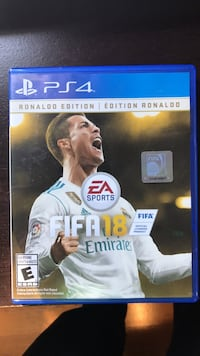 fifa 18 Ronaldo edition for ps4  Caledon, L7C 3B9