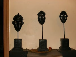 African/Tribal Mask Statue Decor