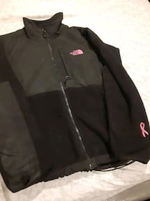 Womens north face limited cancer edition fleece
