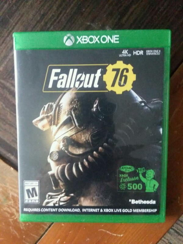 Fallout 76 Xbox One video game