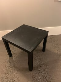 Square  brown wooden coffee table Vienna, 22180
