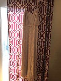 Size 6 Adrianna Papell champagne and gold Gown Centreville, 20121