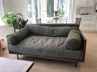 army green loveseat from cisco Los Angeles, 90291