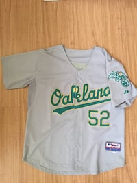 Oakland A's AUTHENTIC players jersey. Size 48. Cash only. Like new. Portland, 97214