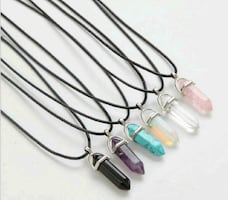 stone pendant necklaces