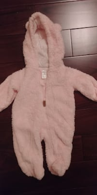 Pink Full Body Suit/Snow Suit 3m from Carter's Mississauga