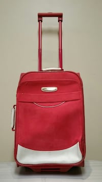 """PINK-SUEDE 21"""" SOFT-SIDE, HEAVY-DUTY, WHEELED CARRY-ON LUGGAGE Arlington, 22204"""