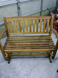 Teak glider can deliver for small fee in my area New Port Richey, 34655