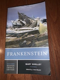 Mary Shelley's Frankenstein (second edition novel) Toronto, M3N 1Y9
