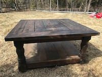 Hand made wooden coffee table Caledon, L7K 2J6