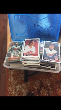 These are old and some rare baseball and football card passed down from my 65 year old dads grandpa looking for a buyer  Indianapolis, 46218