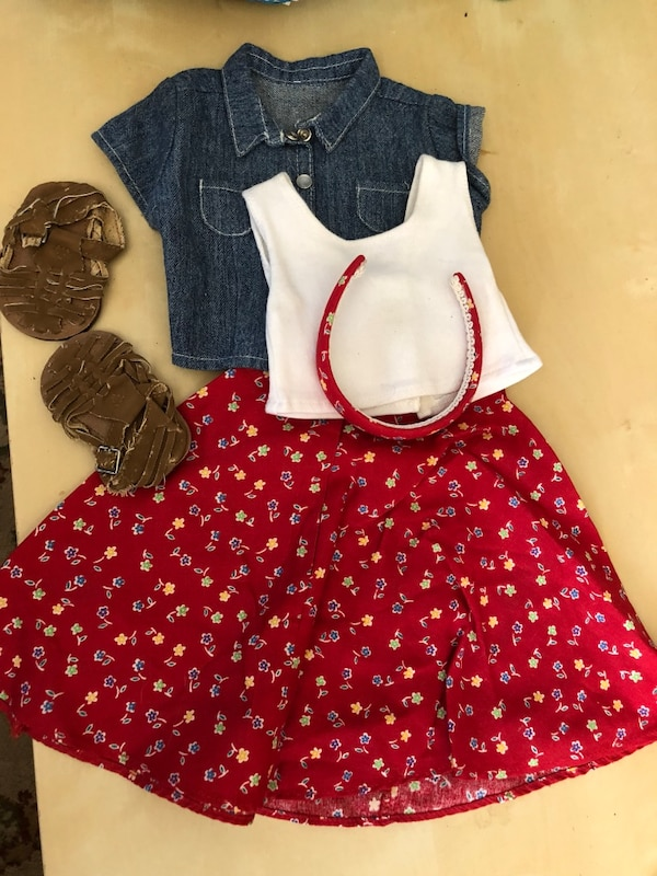American Girl Doll Sale Retro 1998 Play Outfit 96461fbb-778e-45d4-8fa0-7962f2aee7bb