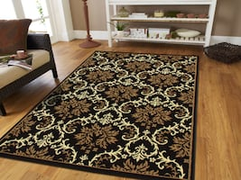 New Brown Modern area rug 5x8 rugs floral
