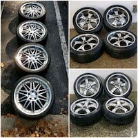 3 sets of BMW staggered wheels rims and tires  19in  5x120 Germantown, 20874