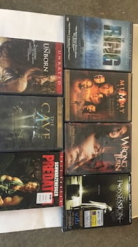 DVD's See movies for more info Palmdale, 93552