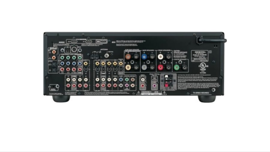 Black onkyo stereo receiver!! 1